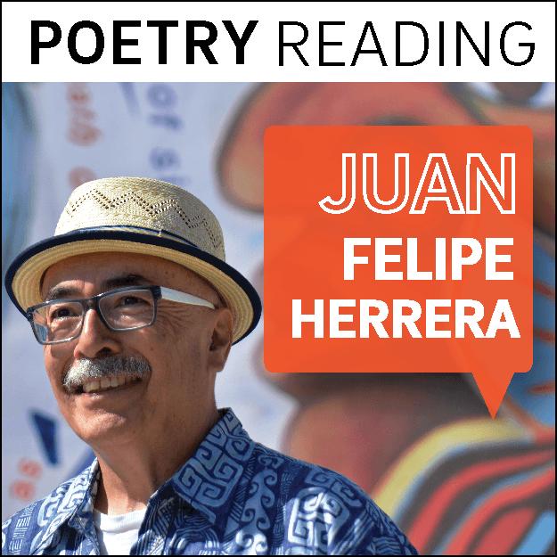 IAH Event: Poetry Reading with Juan Felipe Herrera