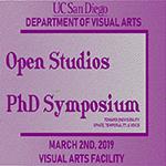 Visual Arts Graduate Student Open Studios & PhD Symposium