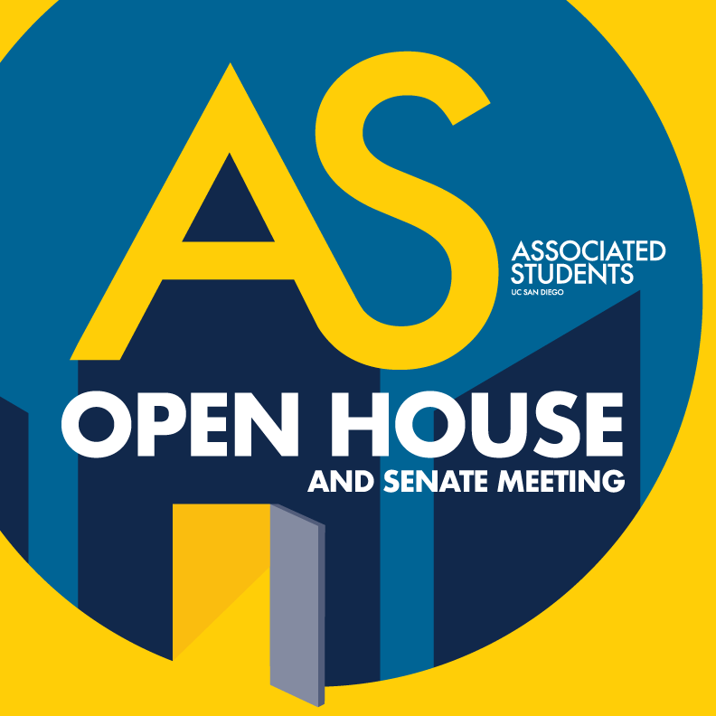 AS Open House and Senate Meeting