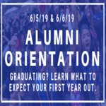 Orientation for Graduating Students!