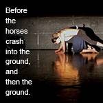 thesisWORKS 2017: Before the horses crash into the ground, and then the ground.