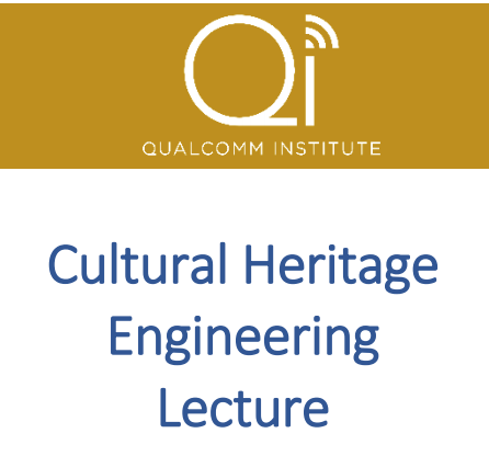 Cultural Heritage Engineering Lecture