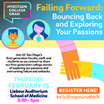 Campus Wide First-Generation Event: Bouncing Back & Exploring your Passions