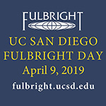 UC San Diego Fulbright Day April 9!
