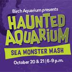 Haunted Aquarium: Sea Monster Mash