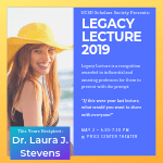 Legacy Lecture Award 2019