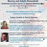 The Murray and Adylin Rosenblatt Endowed Lectures in Applied Mathematics