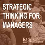 Strategic Thinking for Managers
