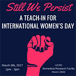 Still We Persist: A teach-in for International Women's Day