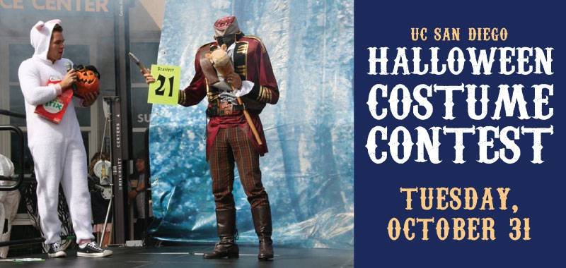 Annual UC San Diego Halloween Costume Contest proudly sponsored by the UC San Diego Bookstore & Annual UC San Diego Halloween Costume Contest: proudly sponsored by ...