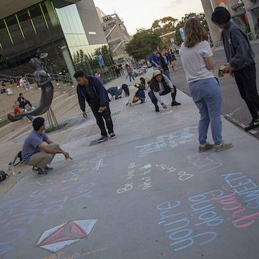 Changemaker Chalking Event