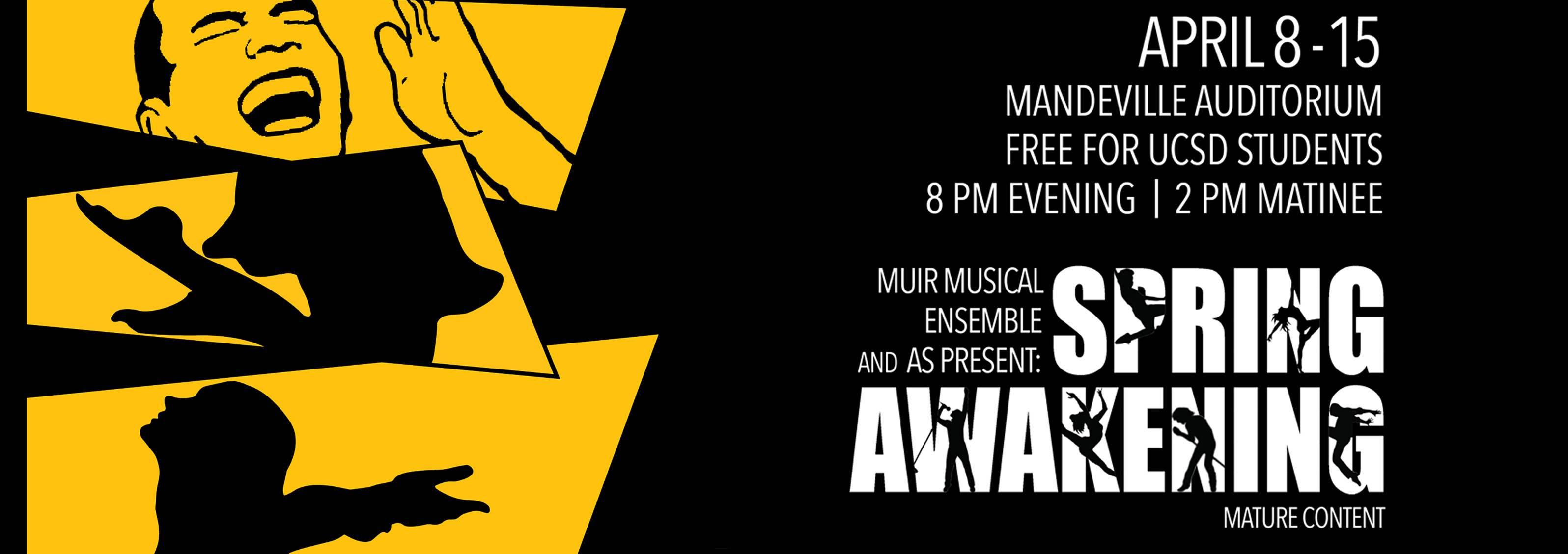 Spring Awakening' Presented by Muir Musical Ensemble and