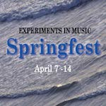 Springfest 2019: Experiments in Music